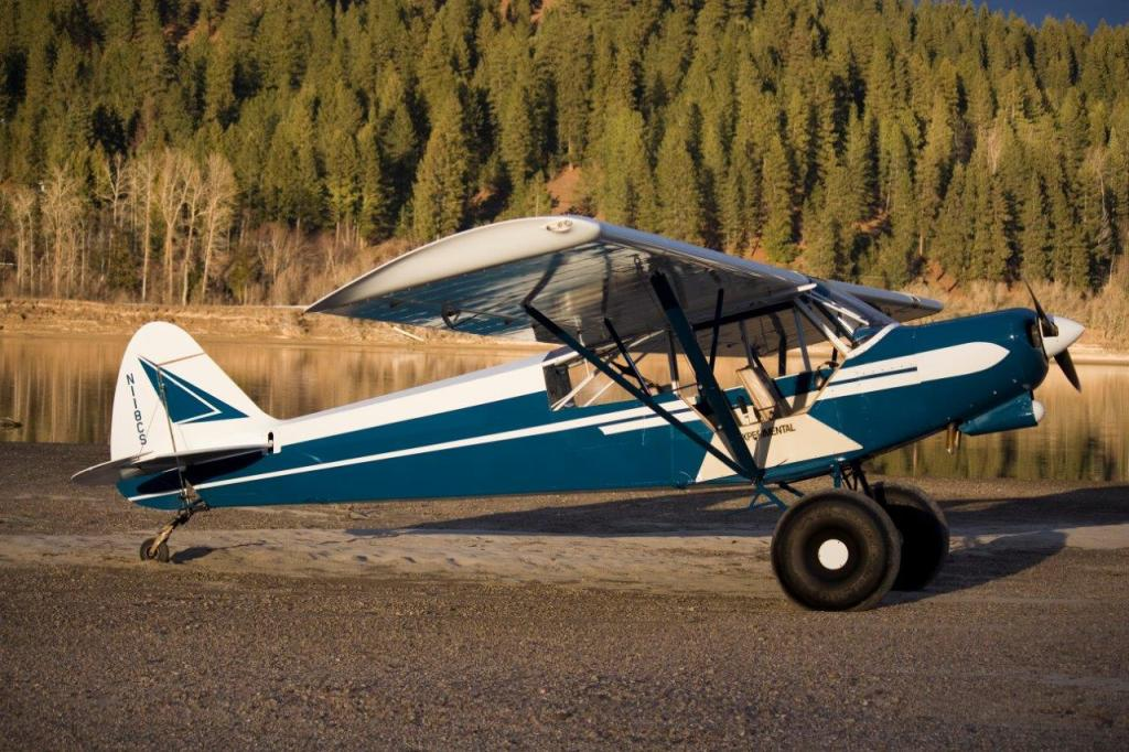 N118CS - Christian Sturm's Experimental Super Cub